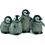 Emperor Penguin Chicks - Schleich World of Nature - Wild Life  (Schleich 14618)