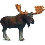 Moose Bull - Schleich World of Nature - Wild Life  (Schleich 14619)