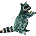 Raccoon, Standing - Schleich World of Nature - Wild Life  (Schleich 14624)