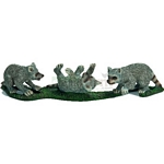 Raccoon Cubs - Schleich World of Nature - Wild Life  (Schleich 14625)