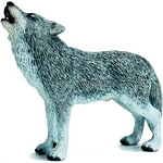 Wolf, Howling - Schleich World of Nature - Wild Life  (Schleich 14626)