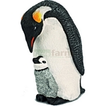 Emperor Penguin with Chick - Schleich World of Nature - Wild Life  (Schleich 14632)