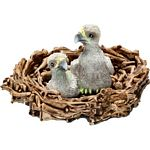 Baby Eagles in Nest - Schleich World of Nature - Wild Life  (Schleich 14635)