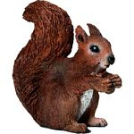 Squirrel, Eating - Schleich World of Nature - Wild Life  (Schleich 14684)