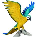 Blue and Yellow Macaw - Schleich World of Nature - Wild Life  (Schleich 14690)