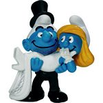 Smurf Bride and Groom