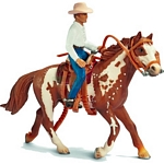 Western riding set - Schleich World of Nature - Farm Life Accessories  (Schleich 40188)
