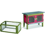 Rabbit hutch - Schleich World of Nature - Farm Life Accessories  (Schleich 42019)