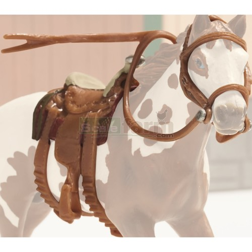 Western Saddle and Bridle Set (Schleich 42122)