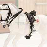 Dressage Saddle and Bridle Set