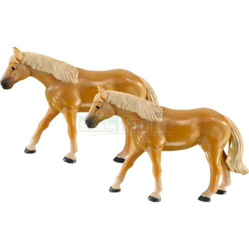 Horses (Pack of 2) (SIKU 1448)