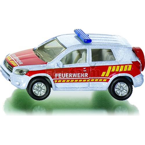 Toyota RAV4 Firefighters Vehicle (Feuerwehr) (SIKU 1465)
