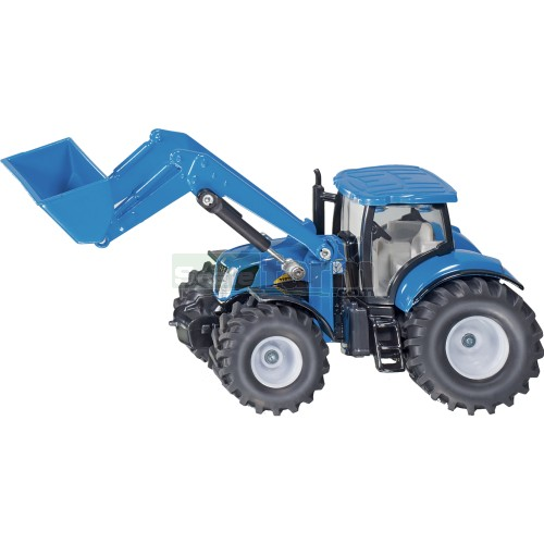New Holland T7070 Tractor with Front Loader (SIKU 1986)