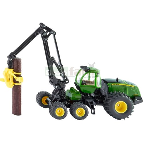 John Deere 1470E Articulated Harvester with Log Grapple (SIKU 1994)