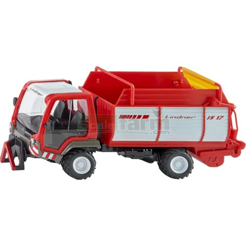 Lindner VS17 Unitrac with Forage Trailer (SIKU 3061)
