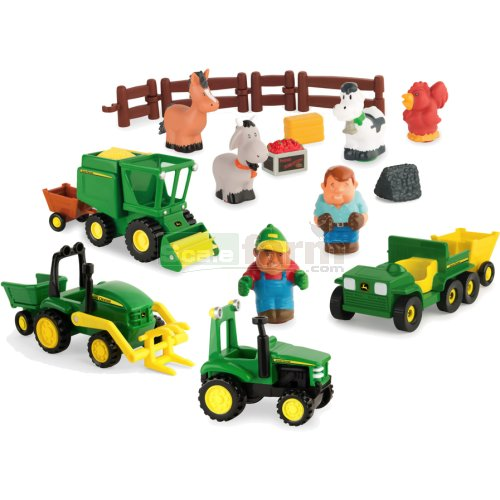 John Deere Fun on the Farm Playset - First Farming Fun (Britains 34984A2)