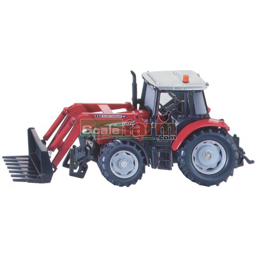 Massey Ferguson 5455 Tractor with Front Loader (SIKU 3653)