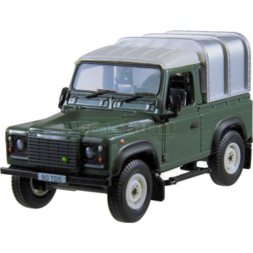Land Rover Defender 90 with Canopy (Green) (Britains 42732A1)