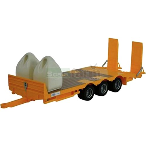 Kane Low Loader Trailer with 2 Dumpty Sacks - Big Farm (Britains 43112A1)