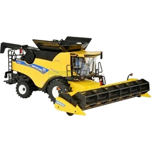 New Holland CR9.90 Twin Rotor Revelation Combine Harvester (Britains 43192)