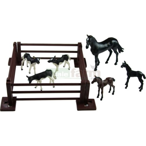 Horse and Baby Animals Set (Britains 43267)