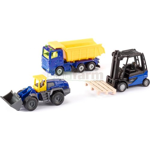 Hard Work 3 Vehicle Set (SIKU 6305)