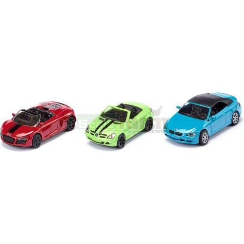 Convertibles 3 Car Gift Set (SIKU 6314)