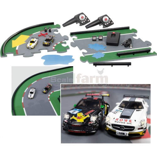 siku 6810 gt challenge set with 2 cars and racing track. Black Bedroom Furniture Sets. Home Design Ideas