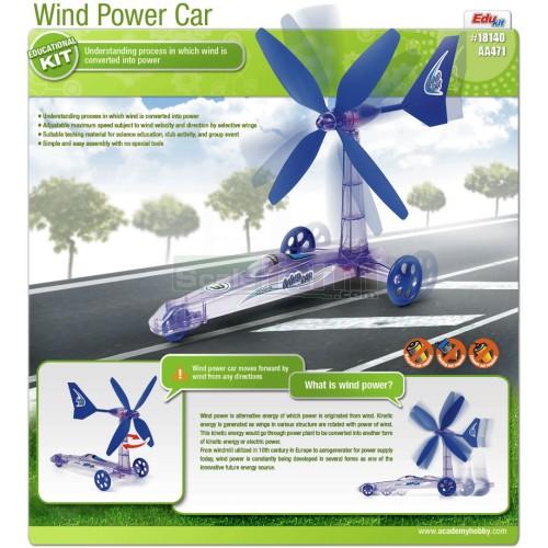 Academy 18140 Wind Power Car Education Kit