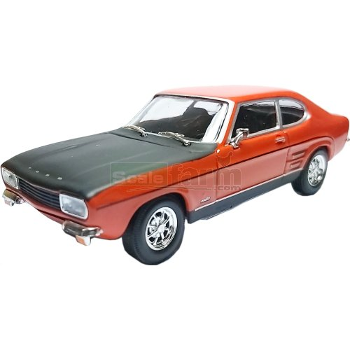 Ford Capri Mk1 - Red / Black (Cararama 251XND-1)