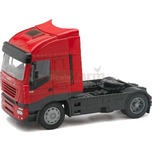 Iveco Stralis 540 Cab Unit - Red (NewRay 10843)