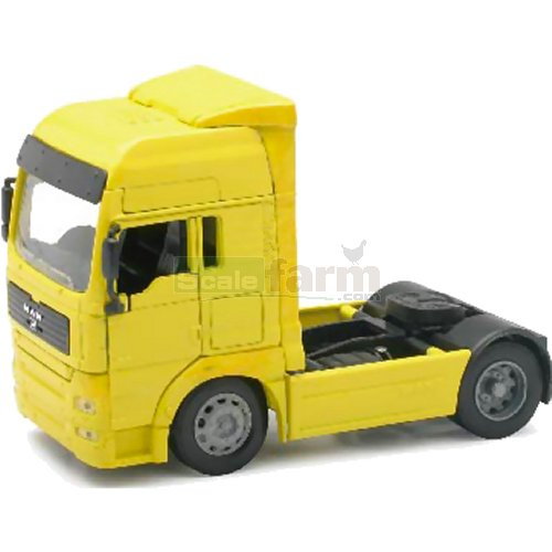 MAN TG 18.410A Cab Unit - Yellow (NewRay 10843)