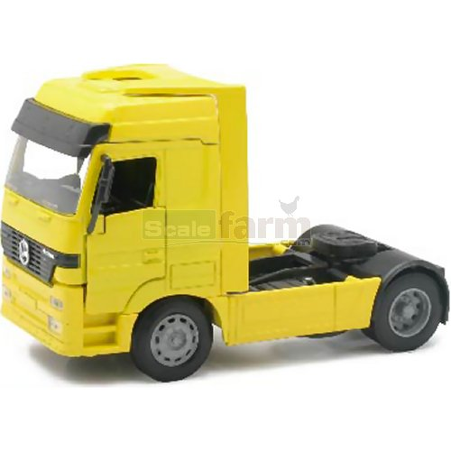 Mercedes Benz Actros 1857 Cab Unit - Yellow (NewRay 10843)