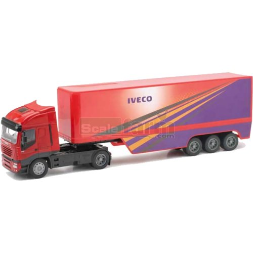 Iveco Stralis Container Trailer (NewRay 13003)