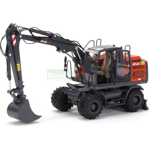 Atlas 160W Wheeled Excavator With Nokian Tyres (AT Collections 3200150)