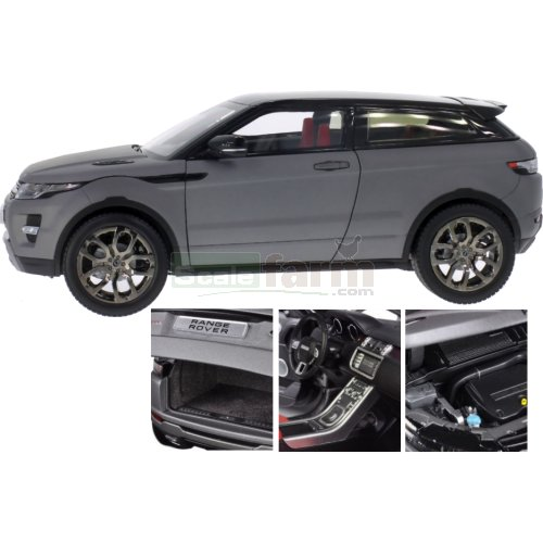 Range Rover Evoque Coupe - Grey Metallic (Welly 11003)