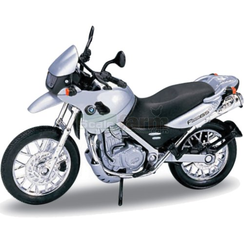 BMW F650 GS - Silver (Welly 12146)