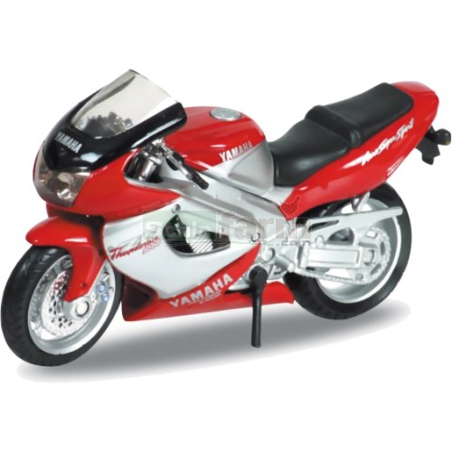 Yamaha YZF1000R Thunderace - Red/Silver (Welly 12154)