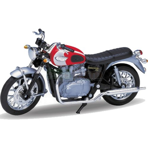 Triumph Bonneville T100 '02 (Welly 12172)
