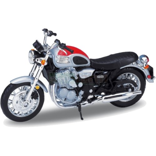 Triumph Thunderbird - 2002 (Red) (Welly 12173)