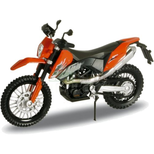 KTM 690 Enduro Motorbike - Orange (Welly 12816)