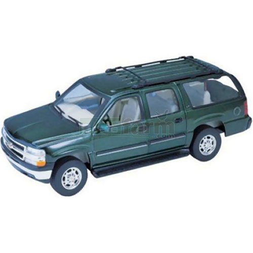 Chevrolet Suburban - 2001 (Dark Green) (Welly 22090)
