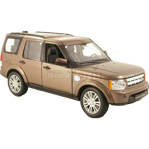 Land Rover Discovery 4 - Brown Metallic (Welly 24008)