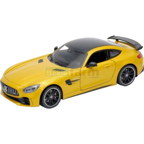 Mercedes AMG GT R - Yellow (Welly 24081)