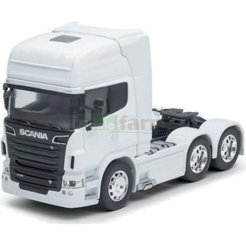 Scania R730 V8 (6x4) - White (Welly 32670)