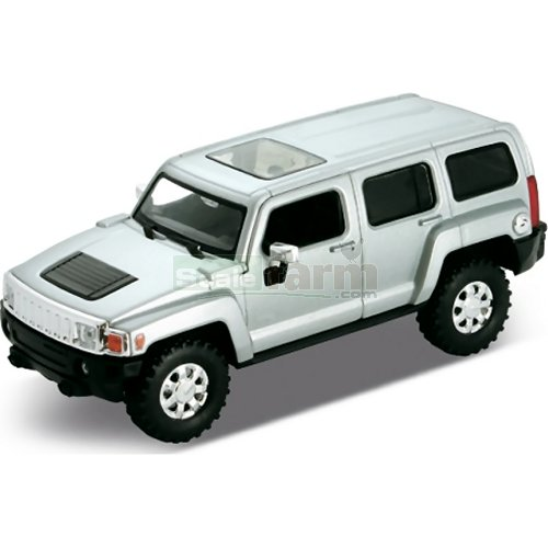 Hummer H3 - White (Welly 43629)