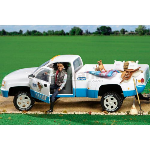 Dually Pick Up Truck - Blue (Breyer 2616)