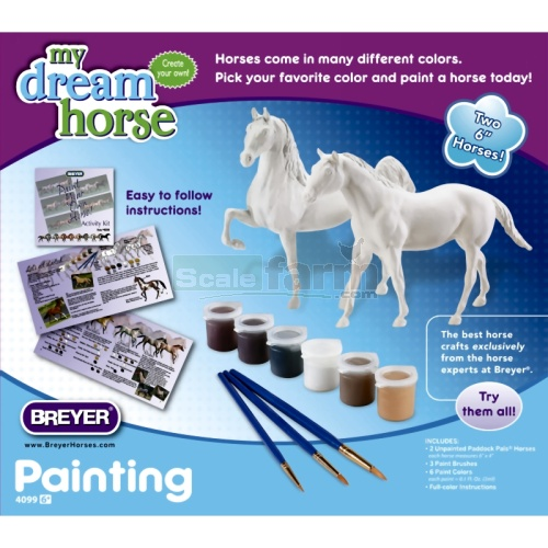 My Dream Horse - Paint Your Own Horse Set (Breyer 4099)