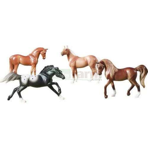 Stablemates Horse Crazy Gift Set Collection (Breyer 5397)