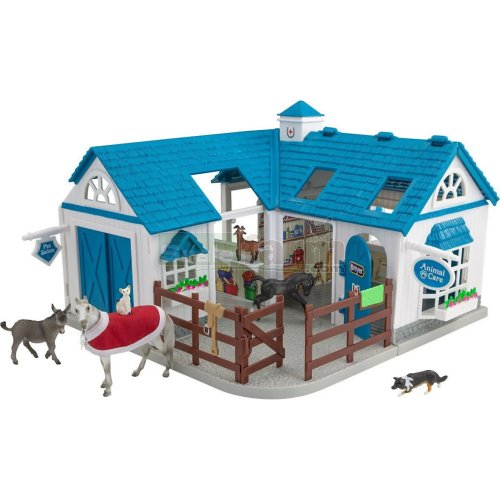 Stablemates Deluxe Animal Hospital (Breyer 59214)